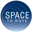 Space To Move logo blue